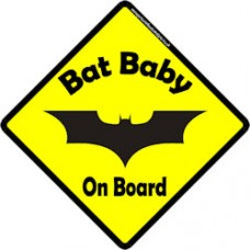 Bat Baby On Board