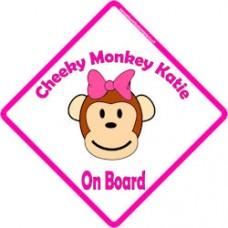 Cheeky Monkey Girl