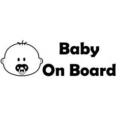 Baby 1 Car Decal Sticker
