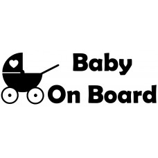 Pram Car Decal Sticker