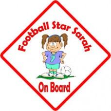 Footy Star Girl