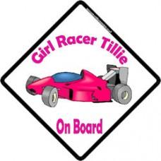 Girl Racer 1