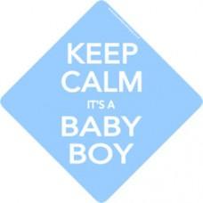 Keep Calm Baby Boy