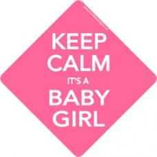 Keep Calm Baby Girl