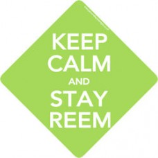 Keep Calm Stay Reem