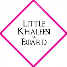 Little Khaleesi On Board