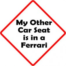 Other Car Seat - Ferrari