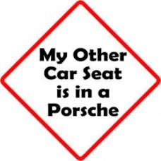 Other Car Seat - Porsche
